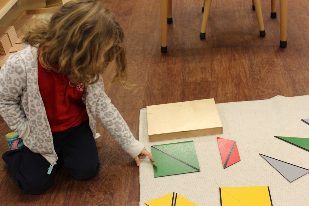 Building quadrilaterals out of triangles