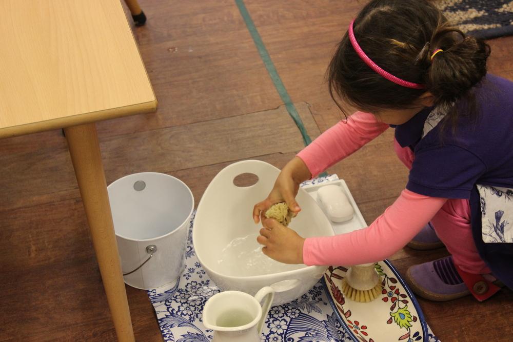 Table Washing