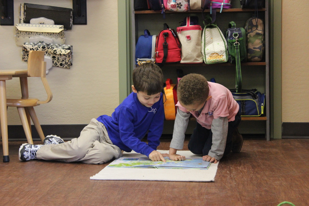 Reading together!