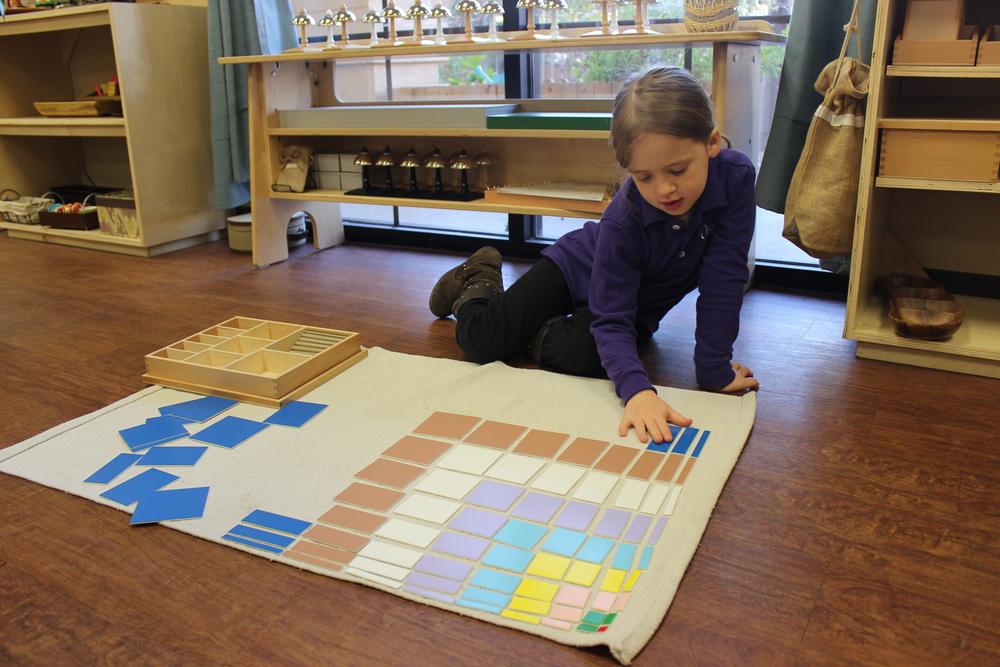 Montessori Decanomial