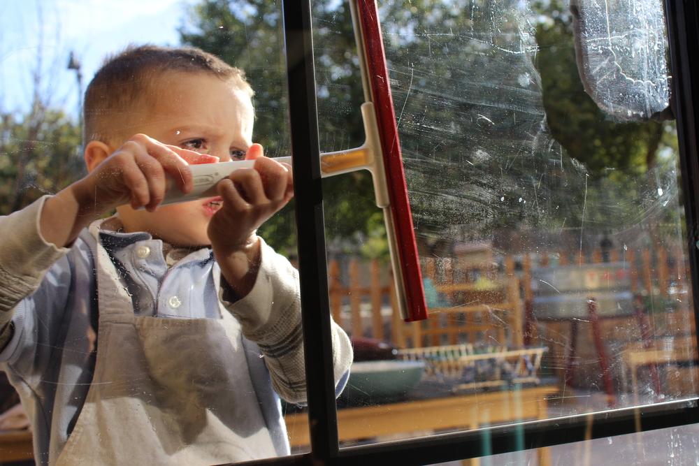 Window Washing Sequence