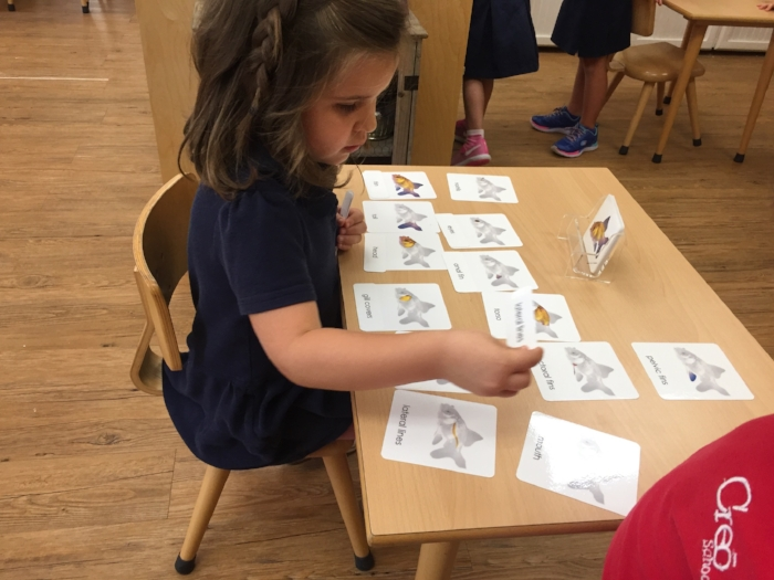 Learning the parts of a fish