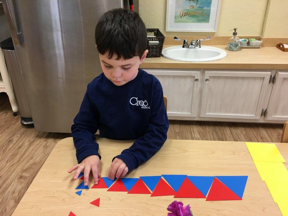 Graded Geometric Shapes