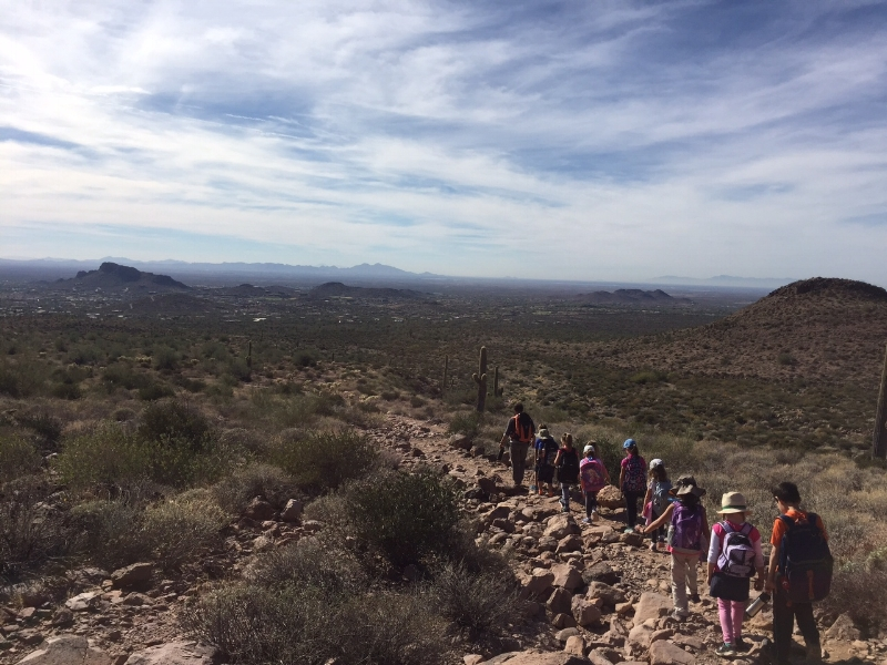 Hike to Hieroglyphic Trail