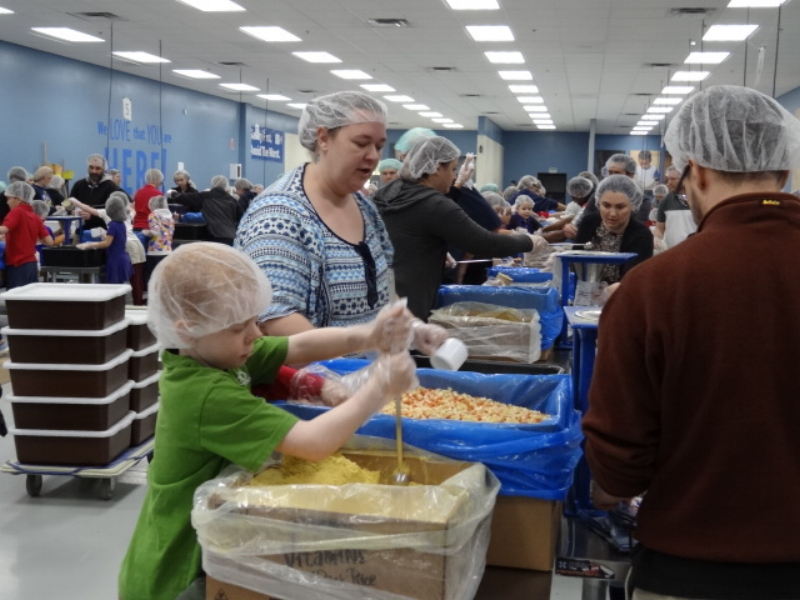 "Field Trip to ""Feed My Starving Children"""