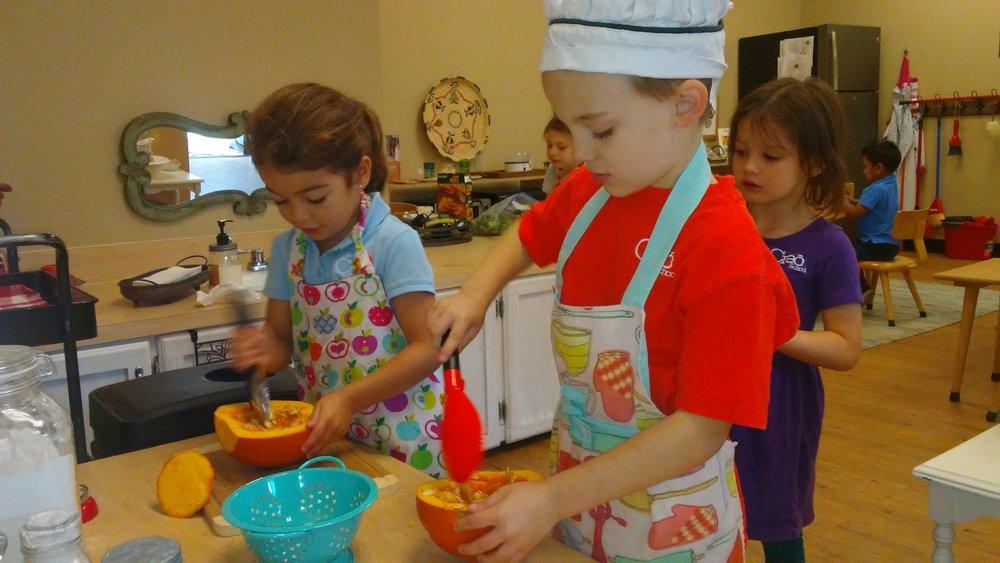Baking Pumpkin Pie