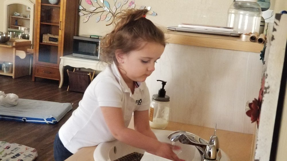 Hand Washing at the Sink