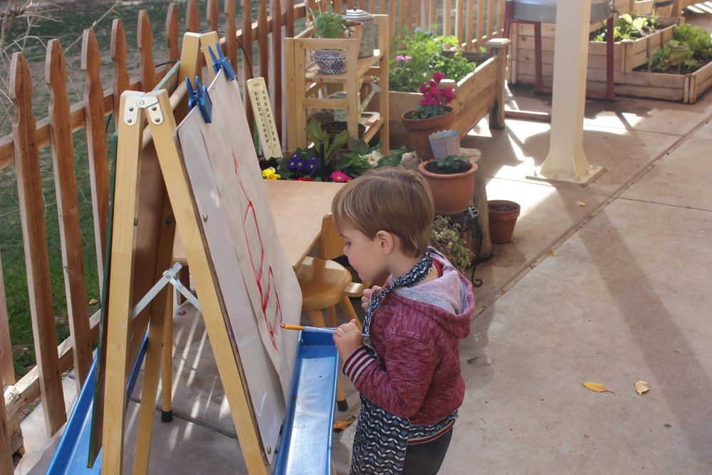 Easel Painting