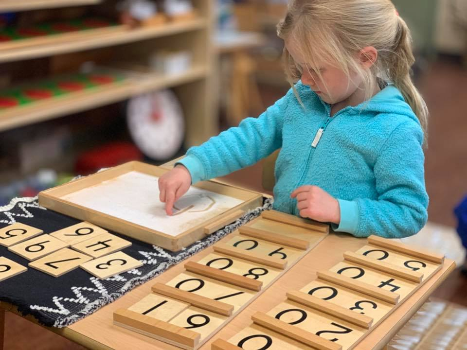 Sand Tray with Tens Boards