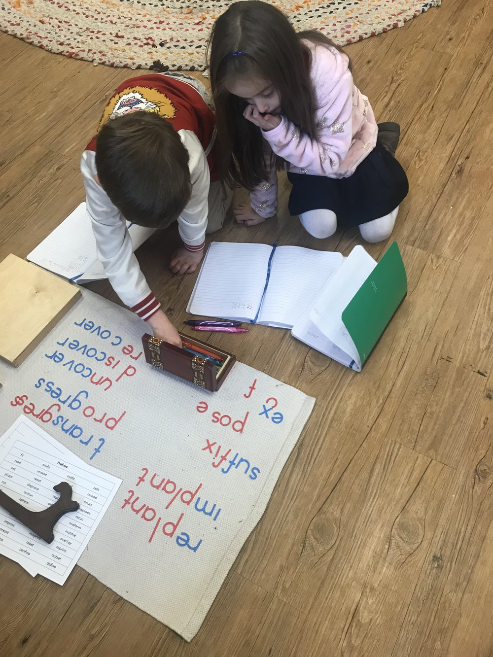 Introducing Prefixes and learning about root words