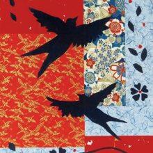 Garden Flight   Collage on Board