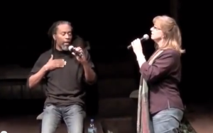 """I Can See Clearly Now"" with Bobby McFerrin 2009 (click on image)"