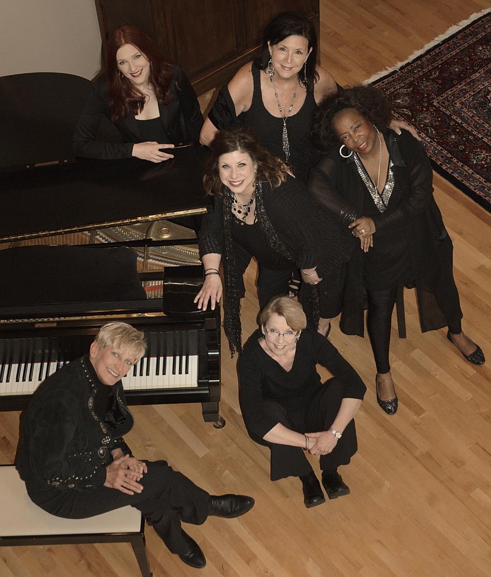 (Clockwise to center: Rachel Holder-Hennig, Patty Peterson, Debbie Duncan, Judi Donaghy Vinar, Lori Dokken, Erin Schwab)