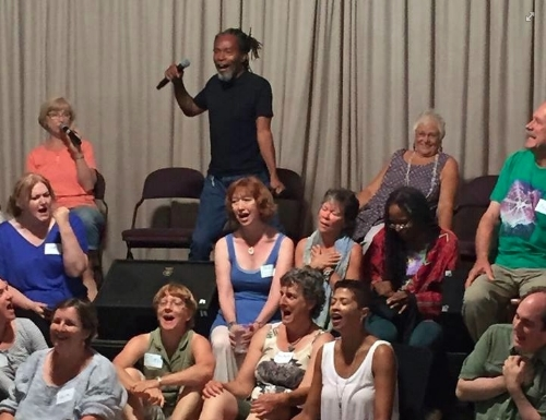 7 Beautiful days of Improvised Singing in Community - transforming!