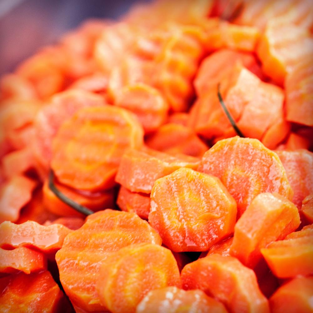 Baked Honey Carrots