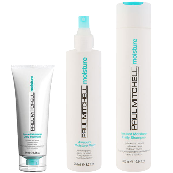 Paul Mitchell Shampoo and Moisture Mist