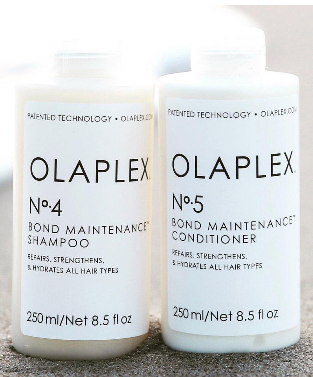 Now available at JVH Hair - Olaplex Shampoo and ConditionerThe leader of healthy hair technology in the industry!