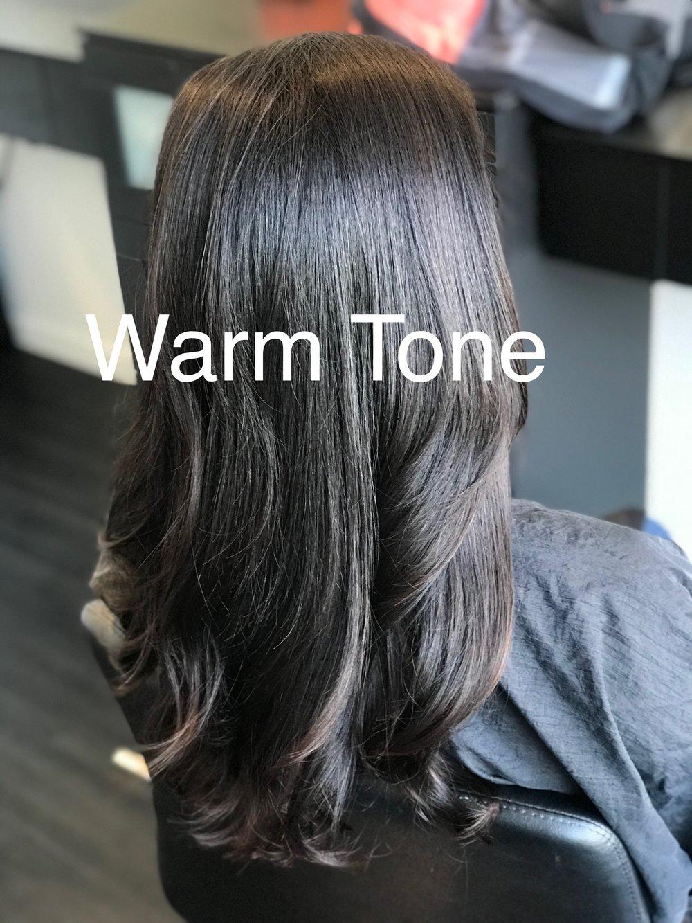 Warm tone hair 3