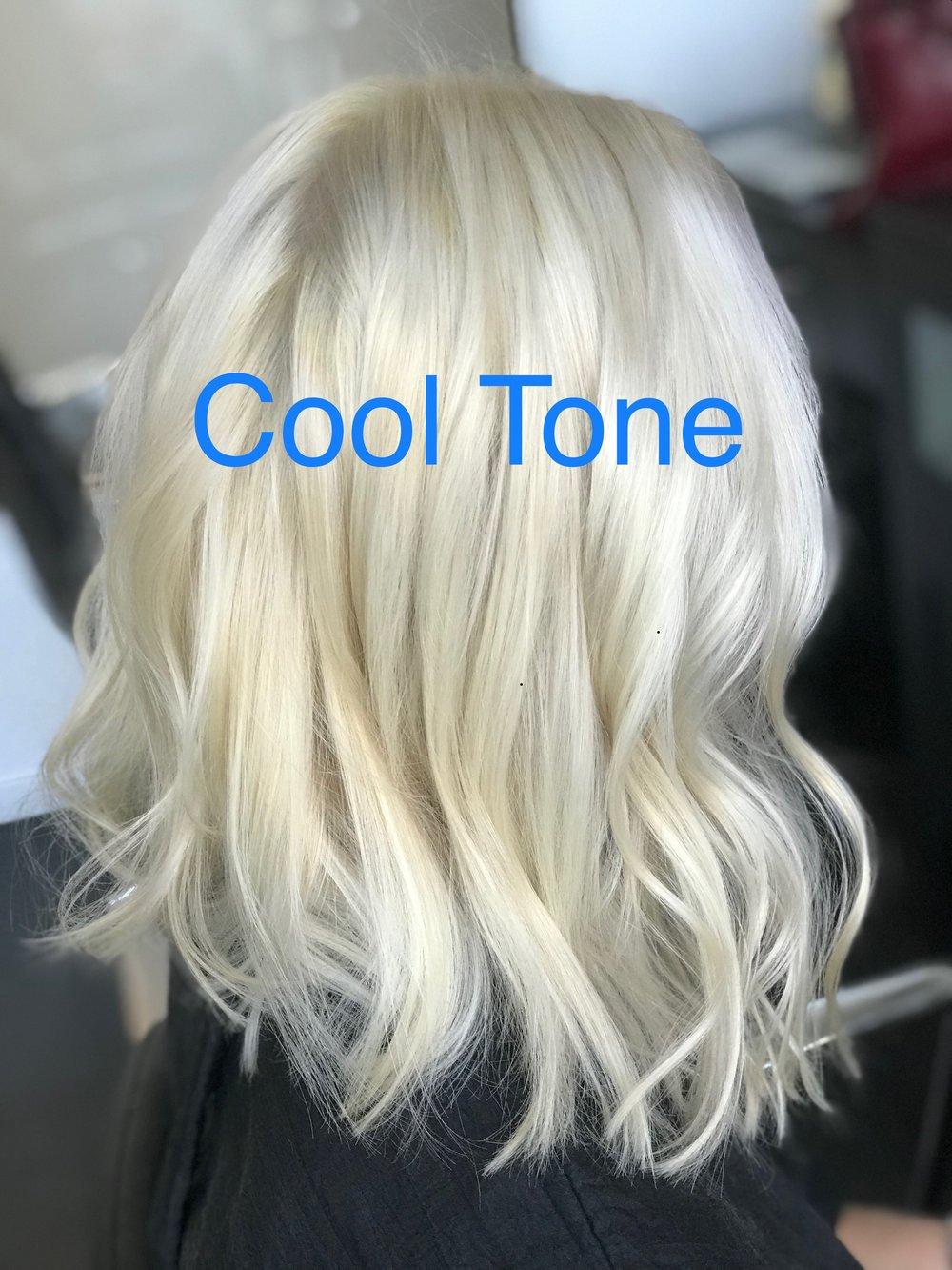 Cool tone hair 1