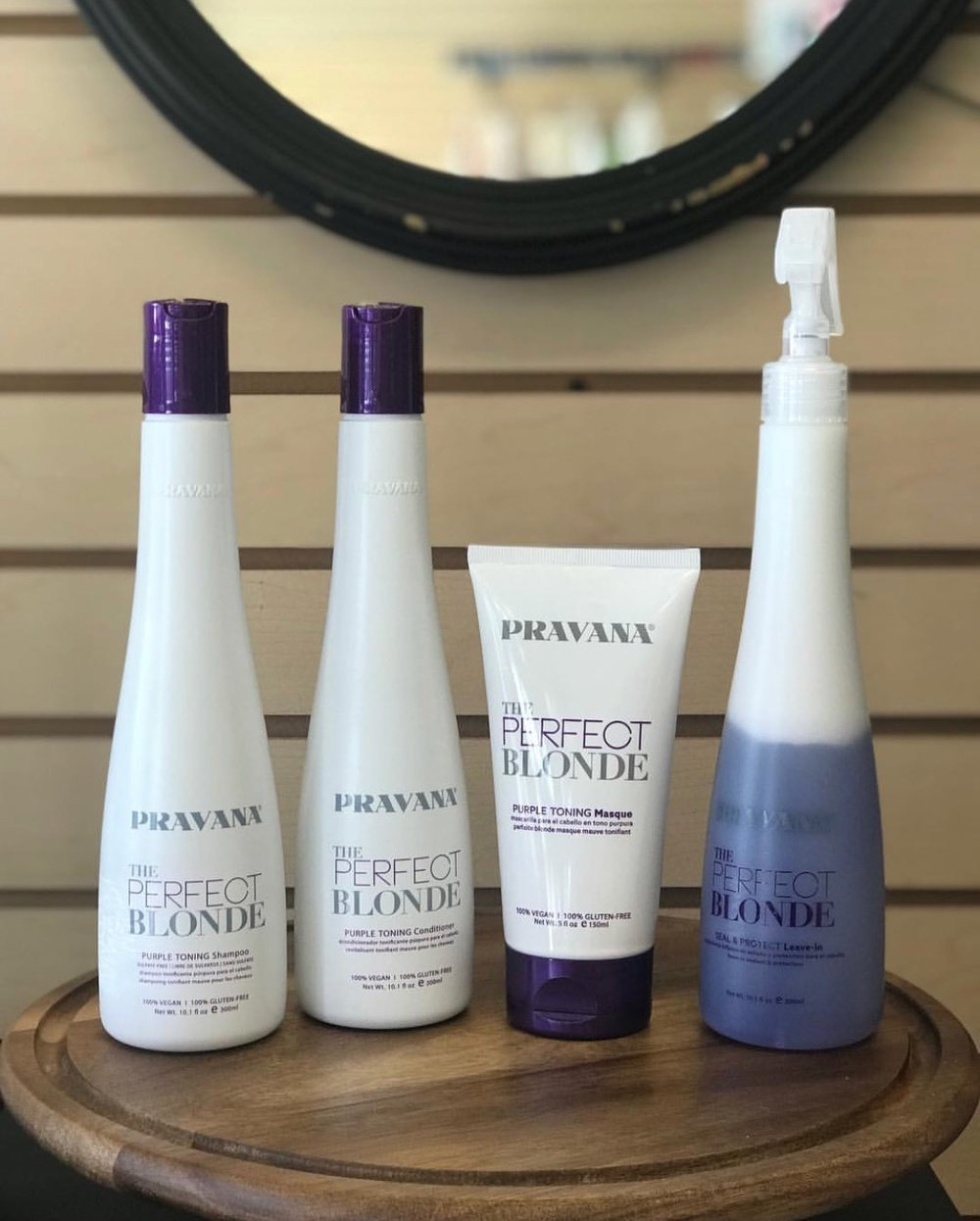 Pravana The Perfect Blonde Shampoo and Conditioner