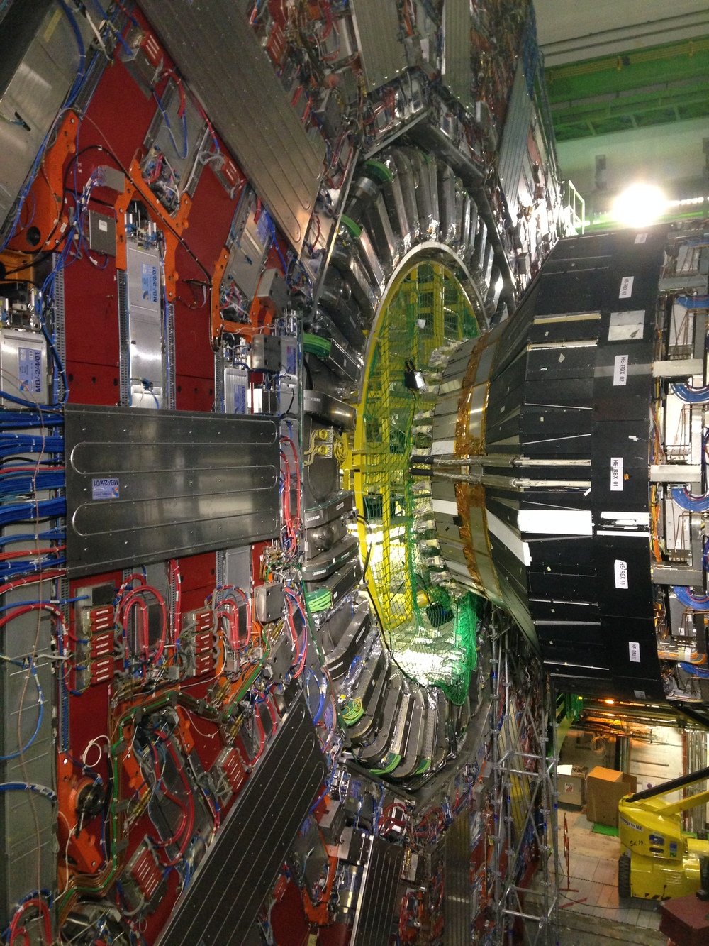 The Compact Muon Solenoid (CMS) detector on the LHC. Photo: Wikipedia