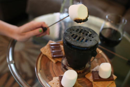 S'Mores for two!