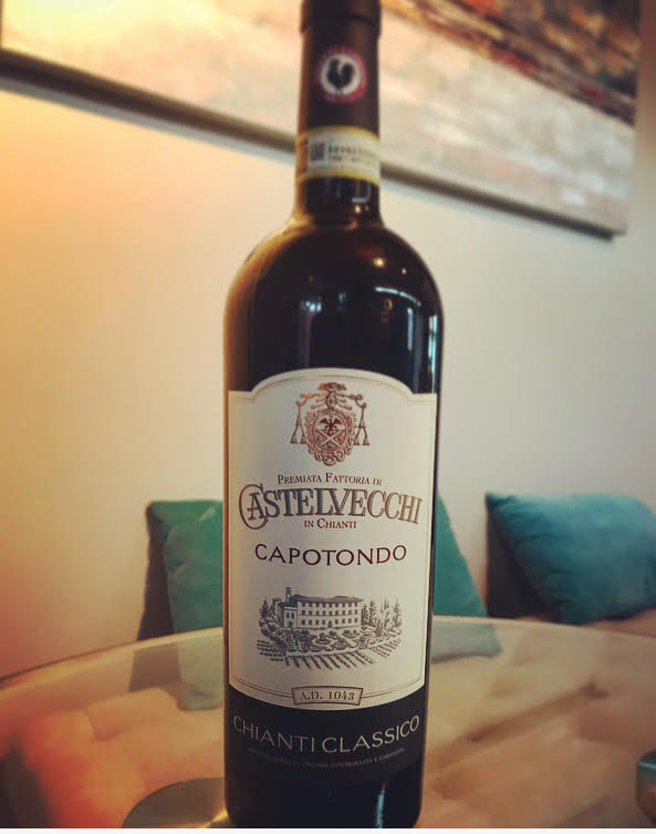 Chianti - From a very old estate in Tuscany, this is not your ordinary Chianti! Elegant and complex, with ripe red cherry notes, rose petals, and a long finish! Perfect to pair with tomato sauce, yet approachable enough to enjoy alone.