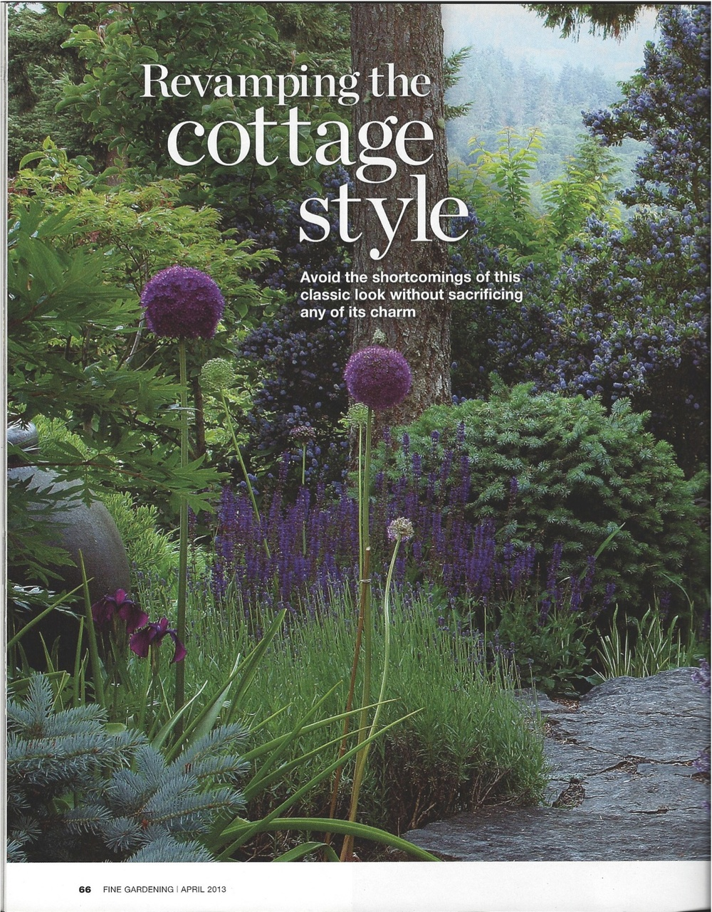 Fine Gardening 'Revamping the Cottage Style' 2013
