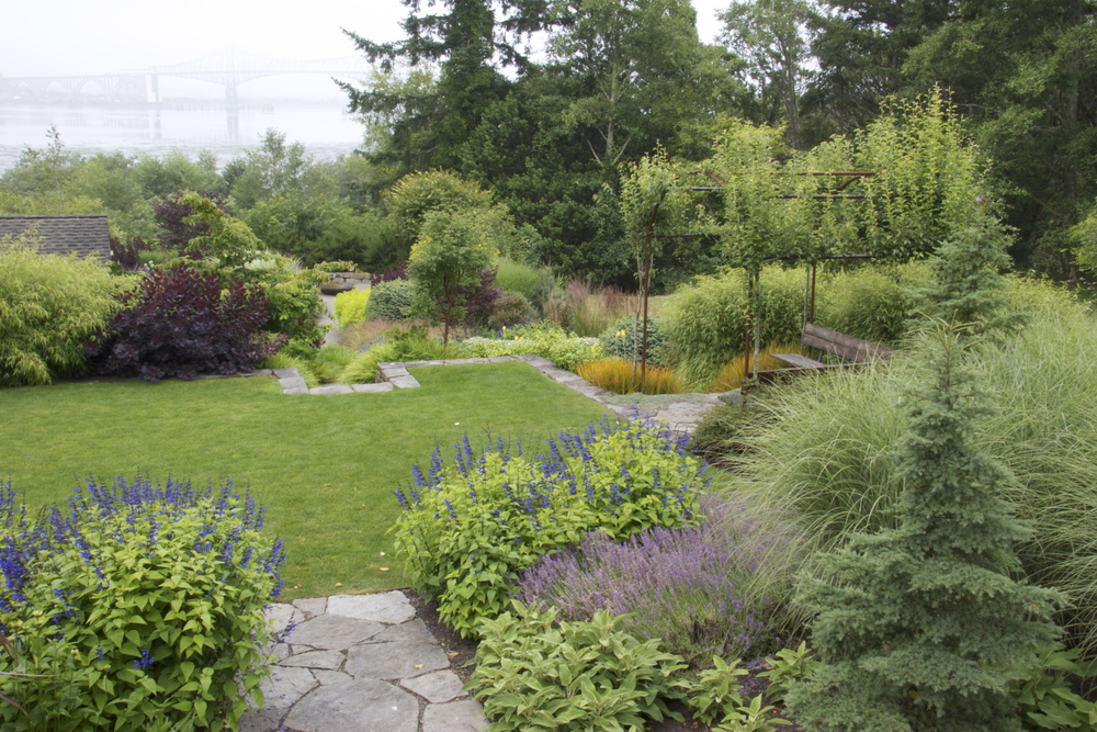 oregon coast landscaping design and construction mosaic gardens