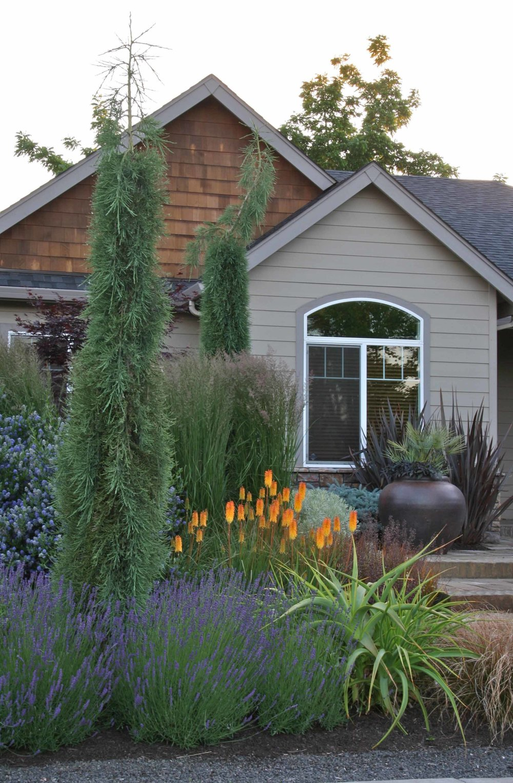 Garden Design Oregon wendover — mosaic gardens