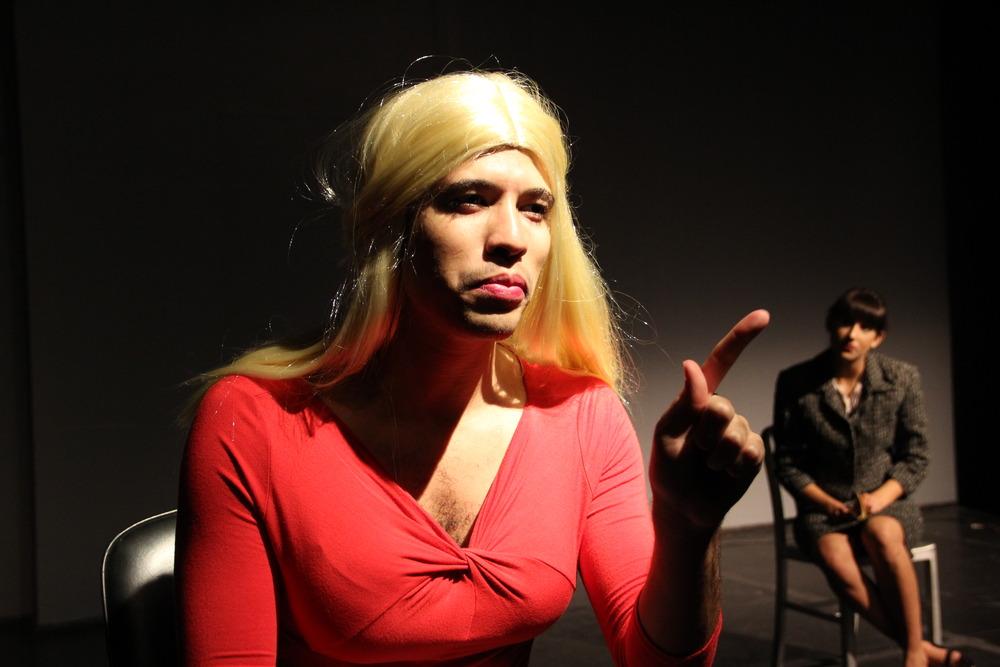 Kandy Kane (Dante Wadley): Hard-hitting journalist. Wasps by Dianne Nora, Columbia University, 2013.