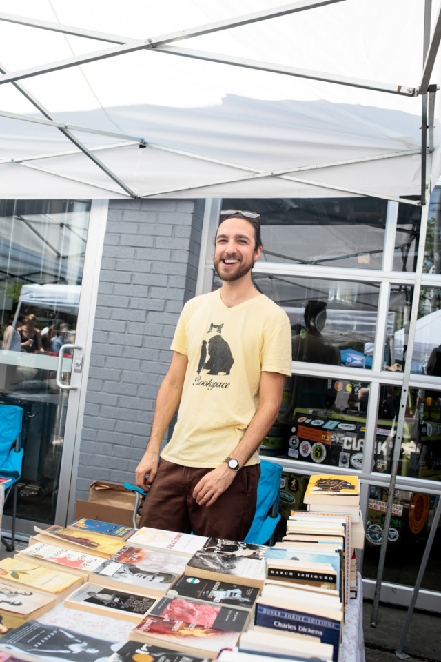 Meet Charlie Pugsley - He's the face behind Bookspace Columbus and I think he's the best pop-up bookseller in the country.