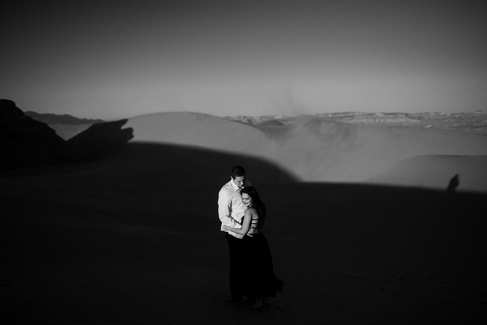 twyla jones photography | couples engagement session sand dunes utah sunset stars-3.jpg