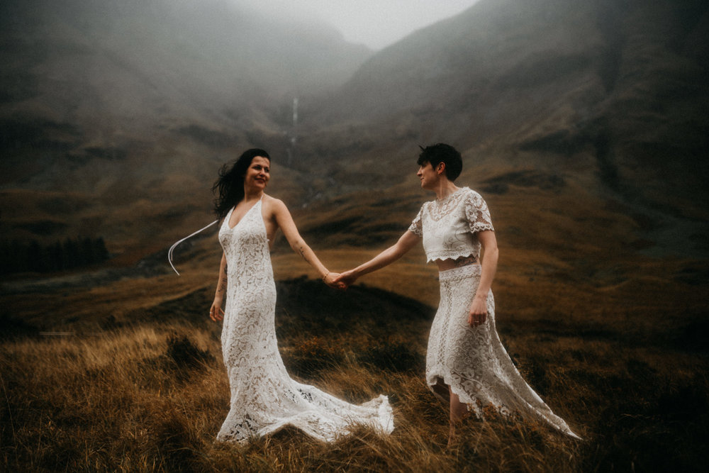 twyla jones photography - scotland glencoe moody same sex elopement brides -16.jpg