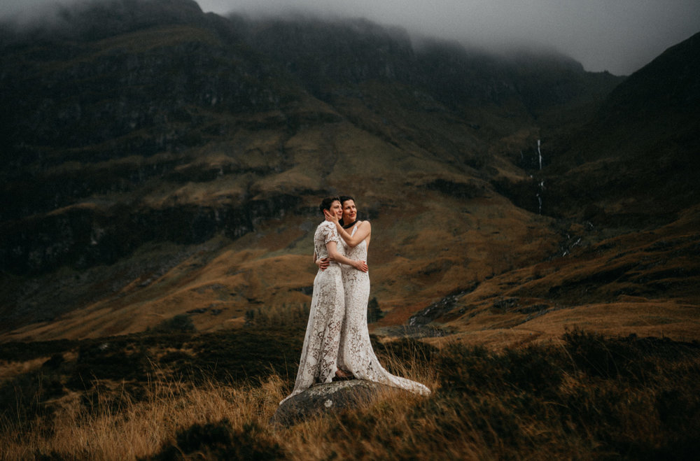 twyla jones photography - scotland glencoe moody same sex elopement brides -54.jpg
