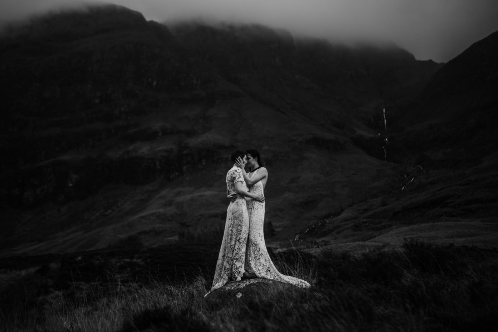 twyla jones photography - scotland glencoe moody same sex elopement brides -55.jpg