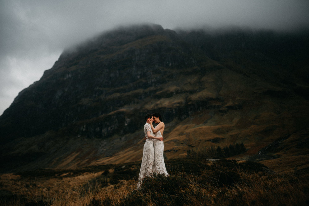 twyla jones photography - scotland glencoe moody same sex elopement brides -56.jpg
