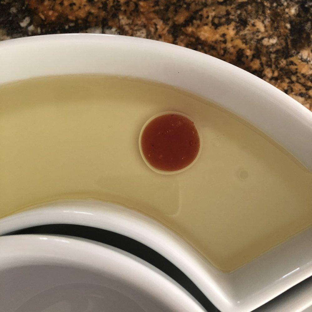 Storing in olive oil