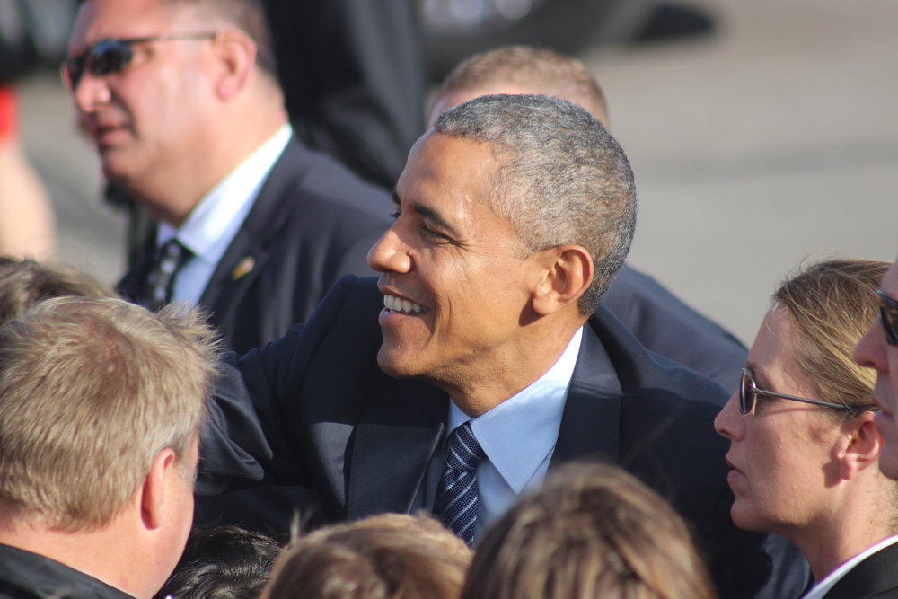 President Obama visits South Dakota