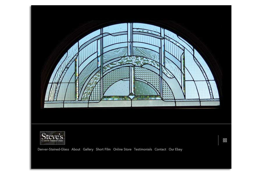 Websites Portland Maine | Steve's Custom Stained Glass