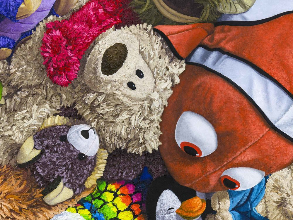 mickey-mouse-stuffed-animal-collage-painting-brent-estabrook-close.jpg