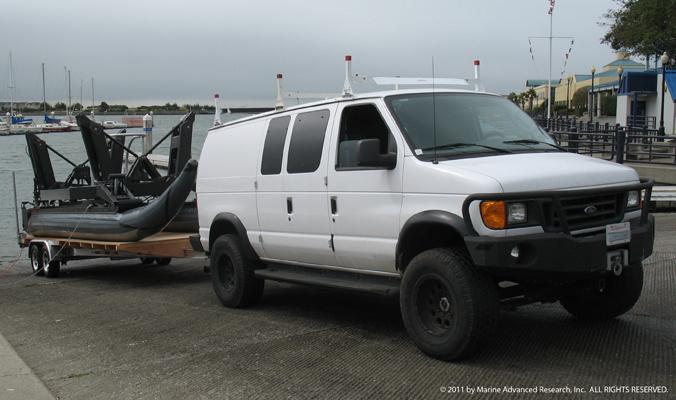 WAM-V unmanned vessel