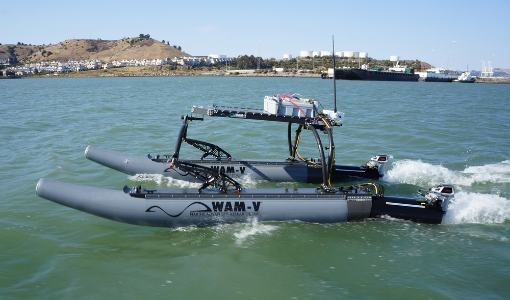 WAM-V unmanned surface vehicle
