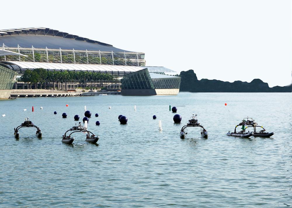 WAM-V USV swarm at Maritime Robot Challenge