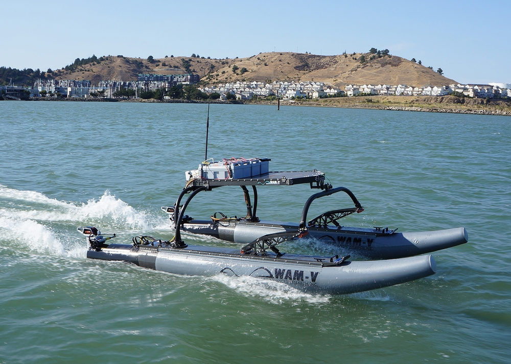 WAM-V unmanned surface vessel