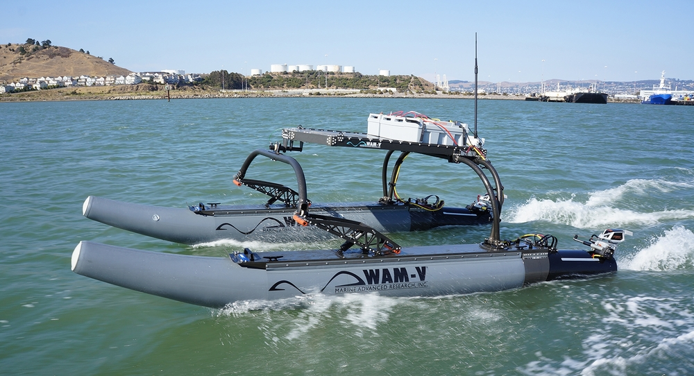 16' WAM-V unmanned surface vehicle
