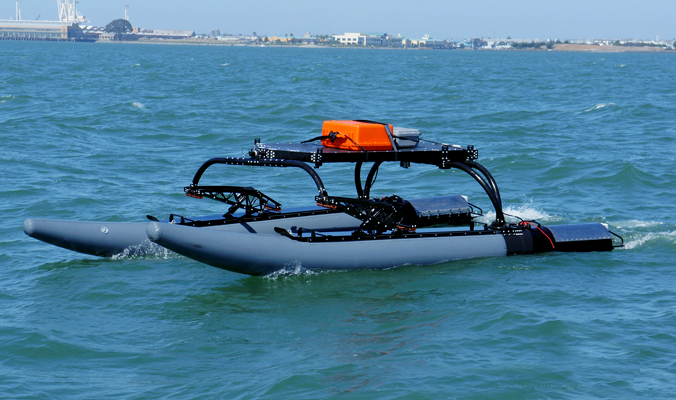 WAM-V unmanned surface vehicles