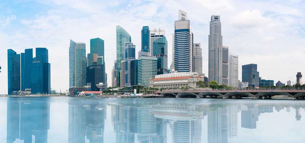 Maritime RobotX Challenge in Marina Bay, Singapore