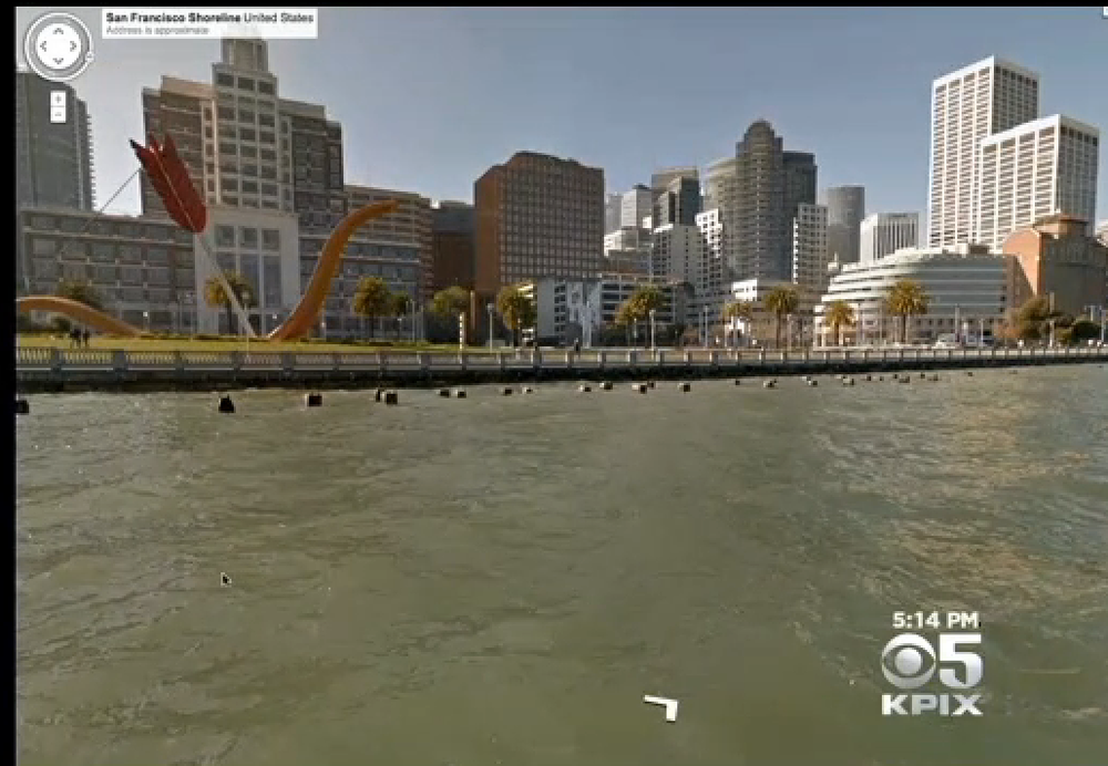 CBS SF Bay Area News covers Google as they utilize the WAM-V platform to map the San Francisco coastline