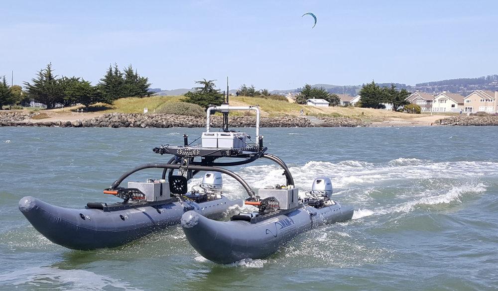 WAM-V USV marine drone